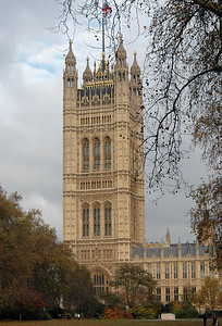 Victoria Tower, Westminster - November, 2010