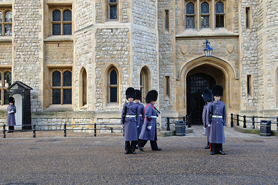 Tower Of London Guards Nov 2010