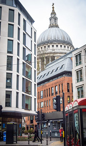 The City: St. Paul's from Newgate