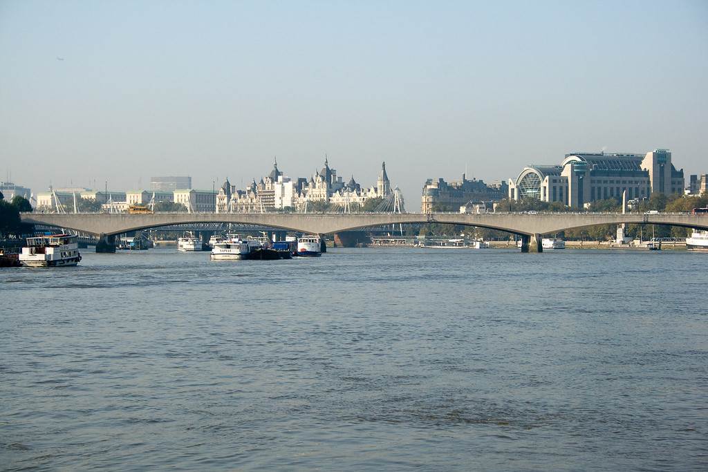 This is looking down the Thames from Blackfriar bridge.