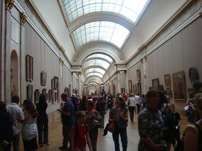 Inside Musee Du Louvre, Paris