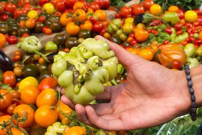 borough market weird tomatoes