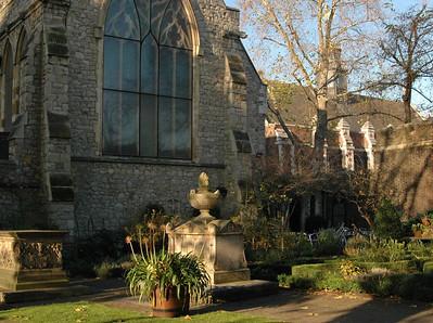 The Tradescant Garden, Museum of Gardening, Lambeth - November, 2010