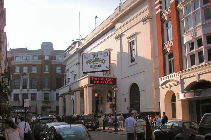 "Drury Lane Theater where we saw ""The Producers"""
