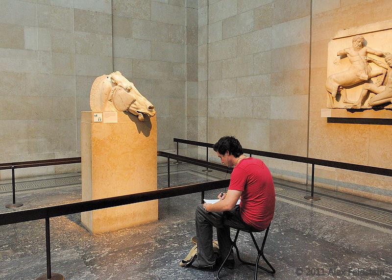 At the British Museum