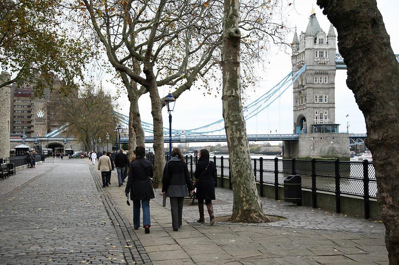 London 2008 - Thames River - Tower Bridge