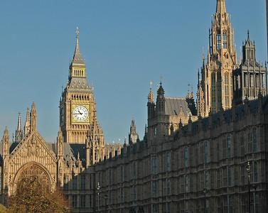 Parliament and Big Ben - November, 2010