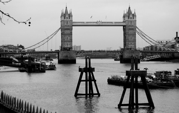 Tower Bridge, from the Thames Embankment