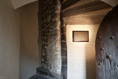Former Staircase in the White Tower where Edward V and his brother were found 200 yrs after they went missing   Nov 2010