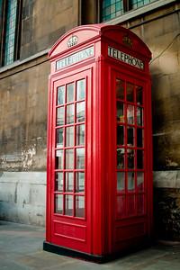 Red Phone Box, London