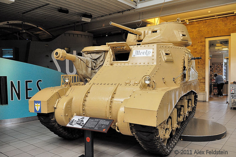 M3A3 Grant Tank<br /> Montgomery's tank<br /> Imperial War Museum