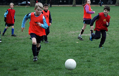 Soccer Practice, Hyde Park