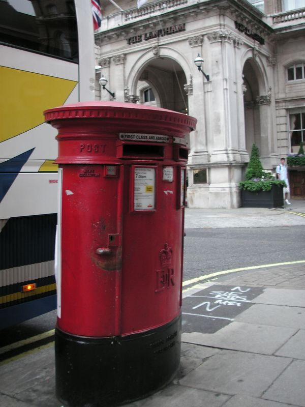 A London Mailbox (For Anthony!)