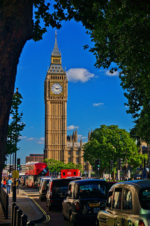 Big Ben and the House of Commons