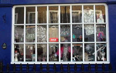 Shop Window, Westminster - November, 2010