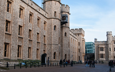 White Tower at the Tower Of London  Nov 2010
