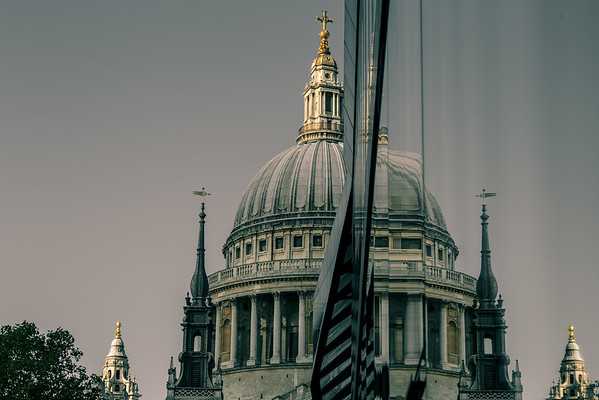 St Paul's Reflected