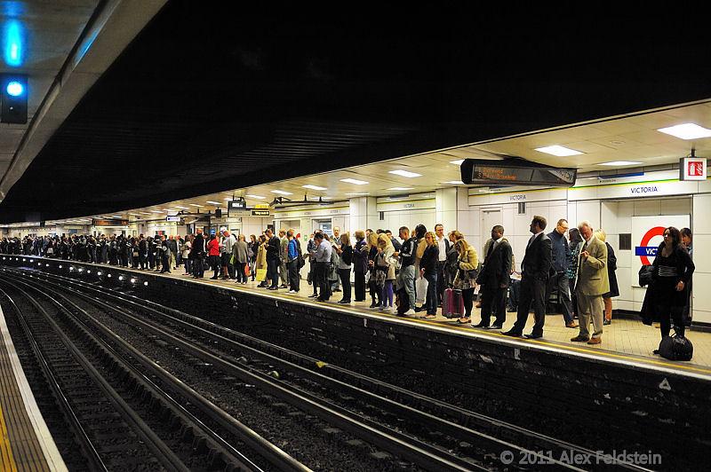 Victoria underground station