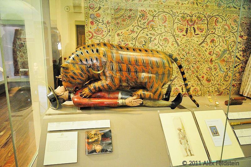 Tipoo Tiger automaton<br /> Victoria and Albert Museum