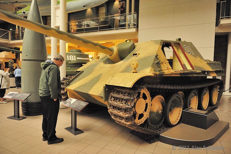 Jagdpanther tank destroyer<br /> Imperial War Museum