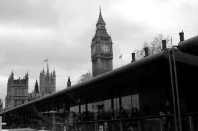 Big Ben and Parliament, from Westminster Pier