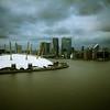 O2 dome and Greenwich Peninsula, London