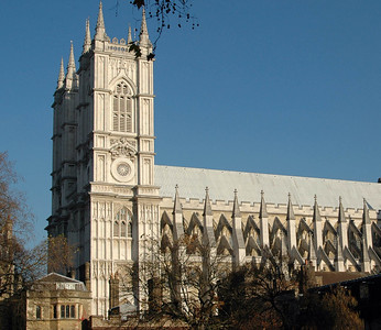 Westminster Abbey, from the Sanctuary - November, 2010