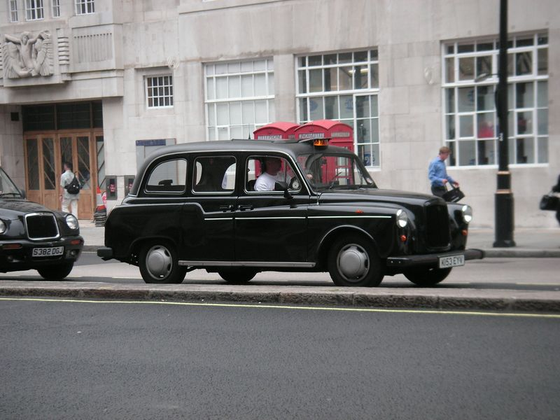 A London Taxi (for Jacob!)