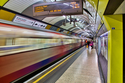 The tube, at Westminister