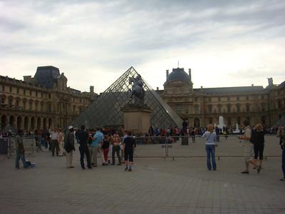 Outside Musee Du Louvre, Paris