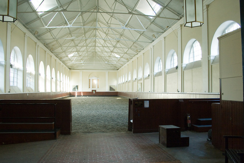 This is where the members of the royal family learn to be equestrians.