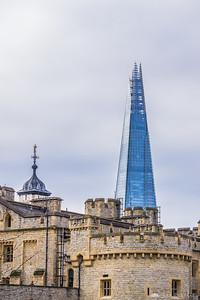Tower of London and the Shard