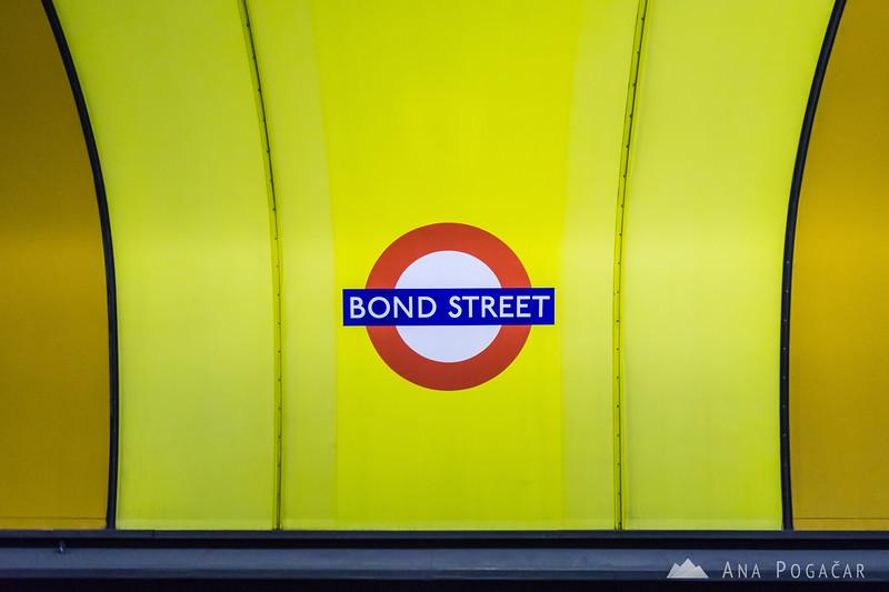 Bond Street tube station