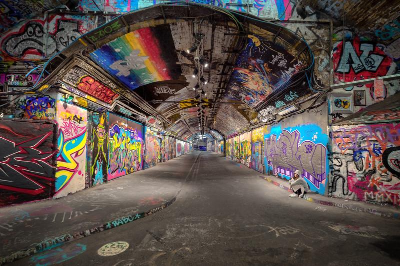 Waterloo Graffiti Tunnel