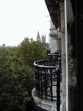 Royal Horseguards Hotel<br /> View from the window<br /> Big Ben