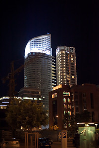 One of the Trumps buildings, downtown Beirut is the ifnancial capitol of the Middle East.