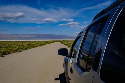 Owens Dry Lake.