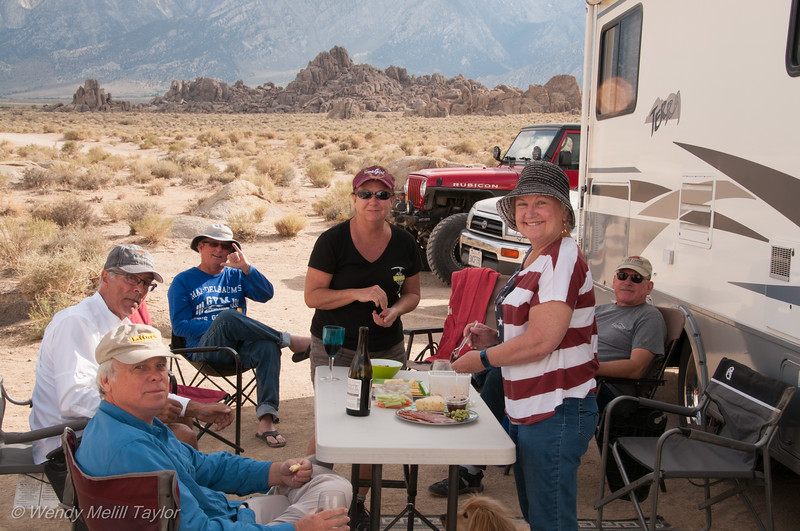 Italian Night in Alabama Hills