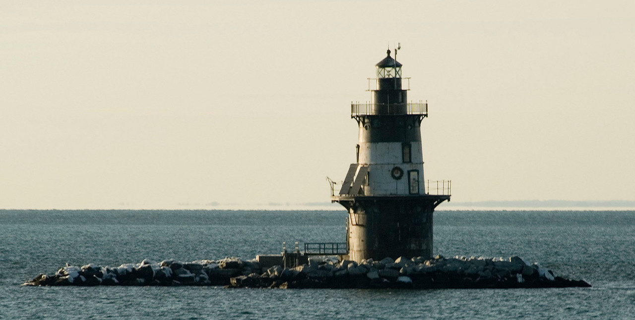 Orient Point lighthouse.