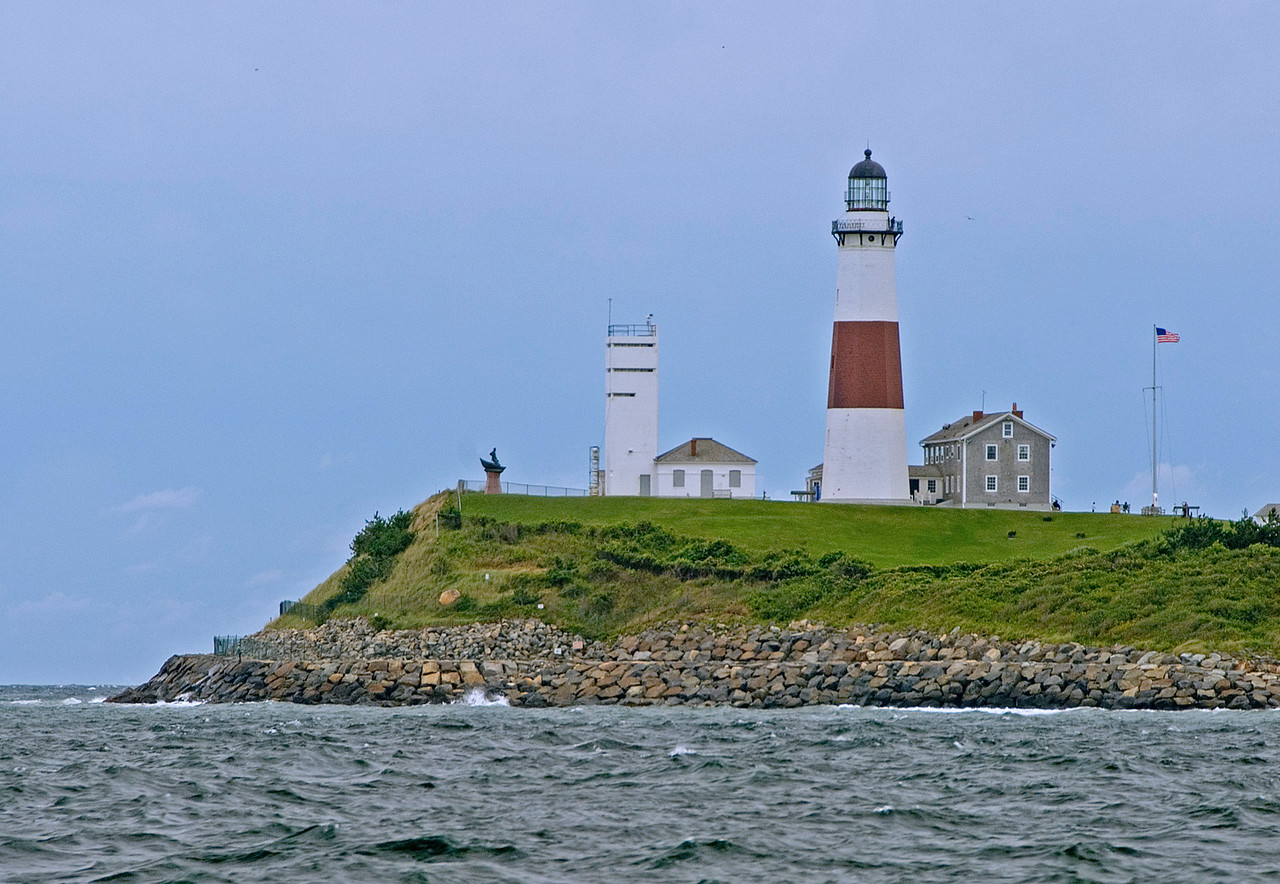 Montauk Lighthouse from the Sound