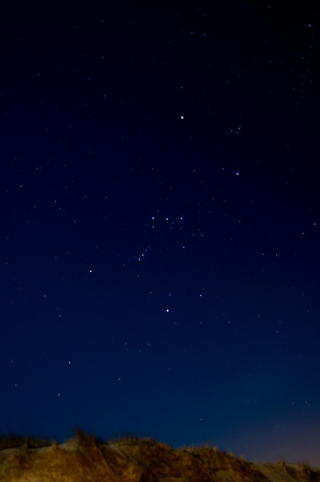 Orion over Walking Dunes, Montauk