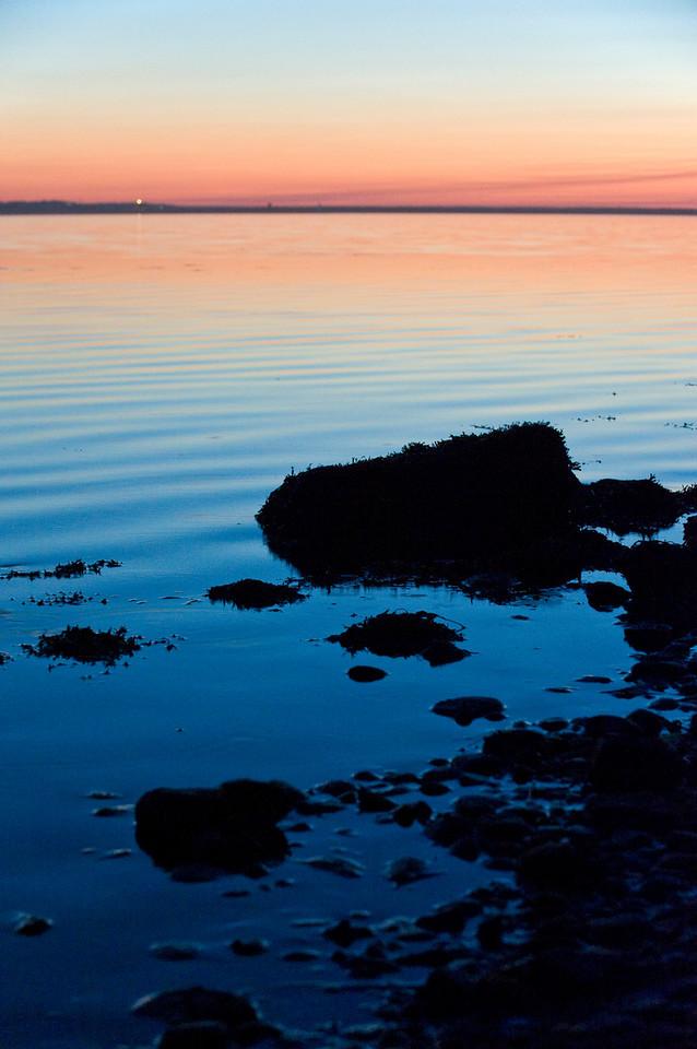 Sunset at Promised Land (Montauk), Aug 2010