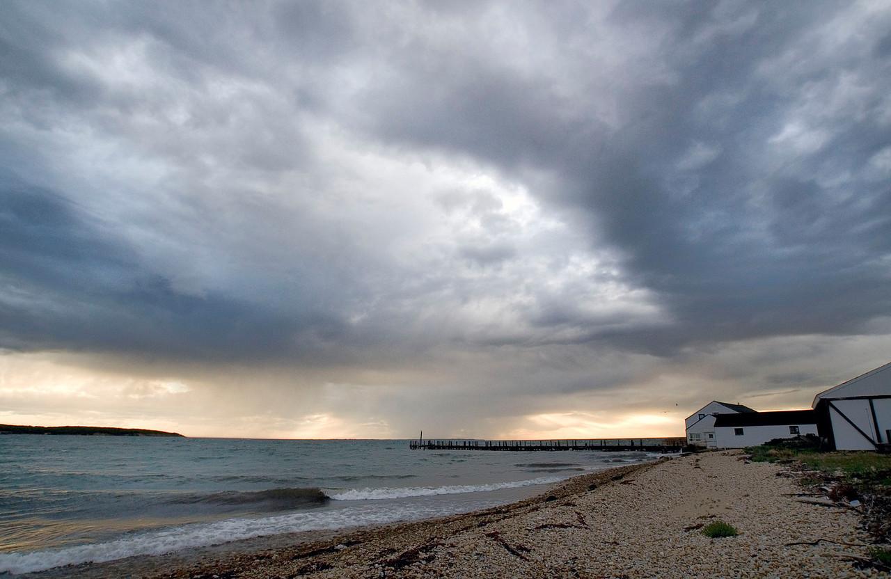 Storm over Duryea's