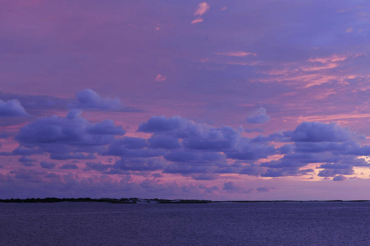 Sunset Clouds over the Great South Bay