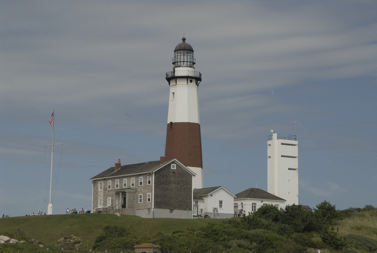 Montauk Lighthouse by day.