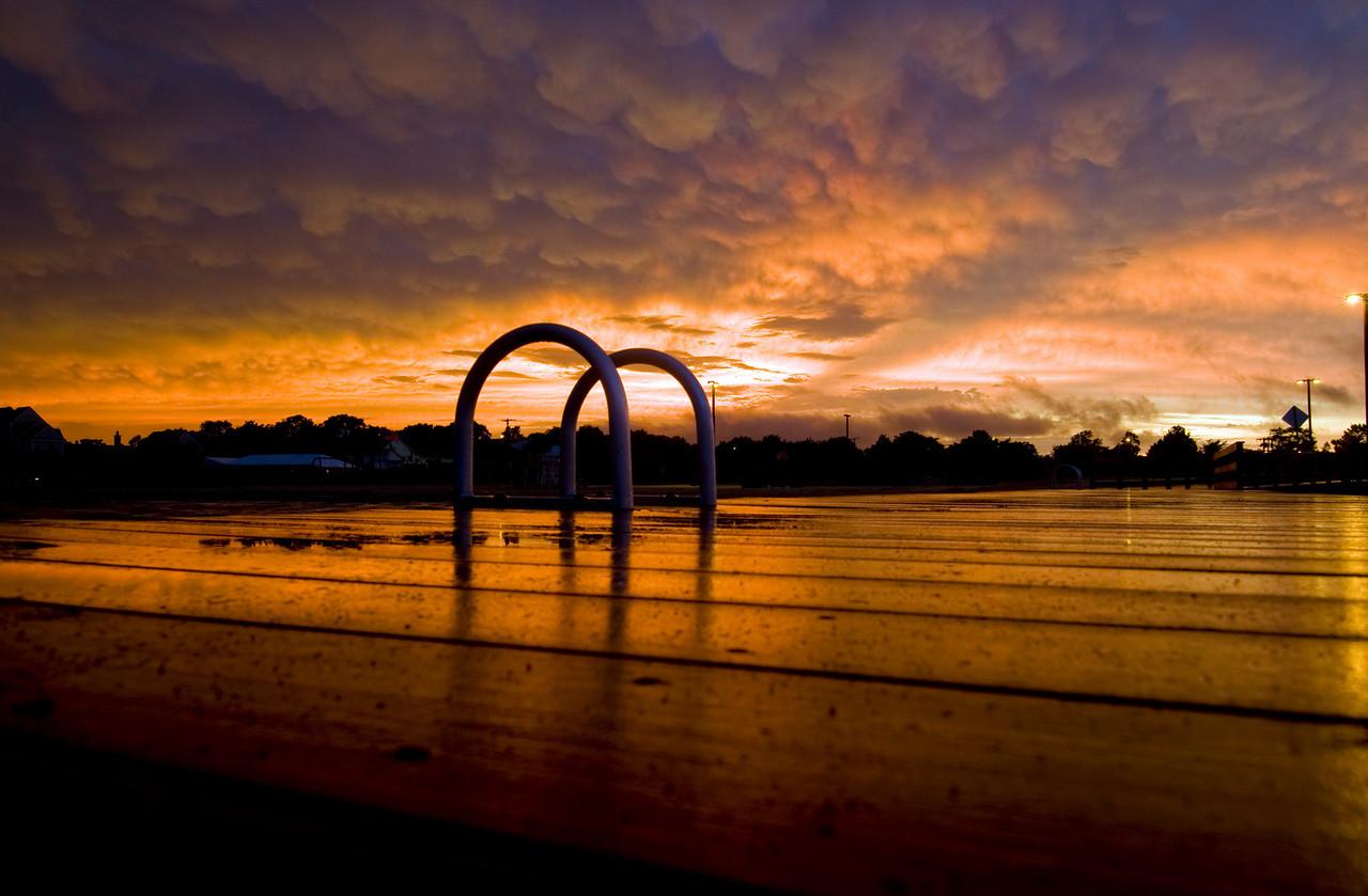 Thunderstorm Sunset, Bay Shore NY