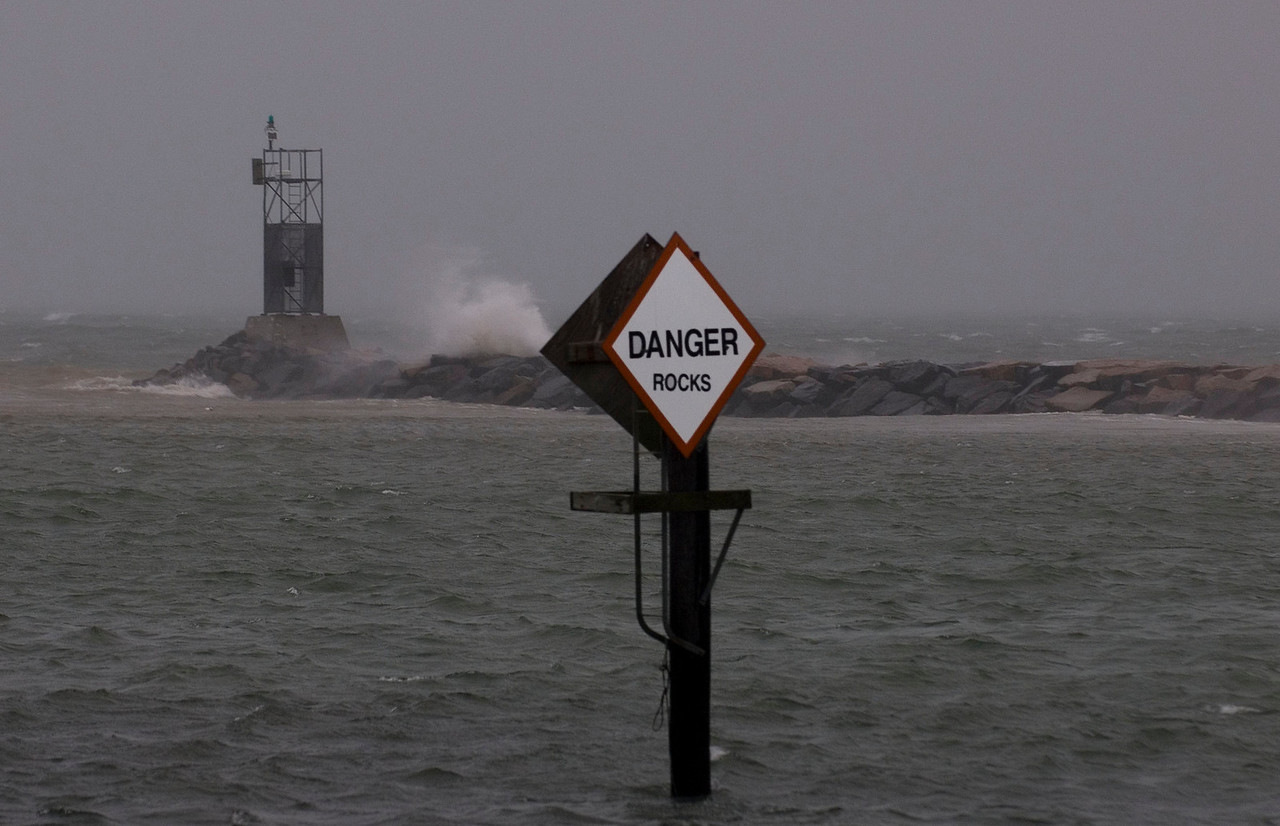 Danger: Rocks (Montauk 2006)