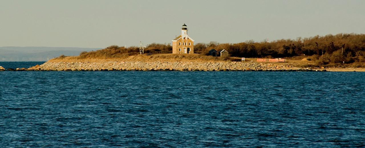 Plum Island lighthouse.