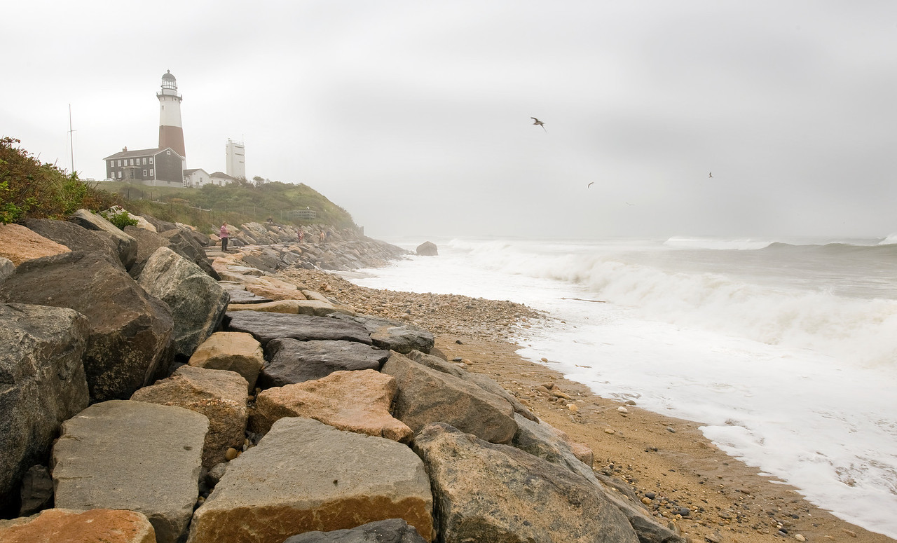 Montauk Lighthouse, Hurricane Earl