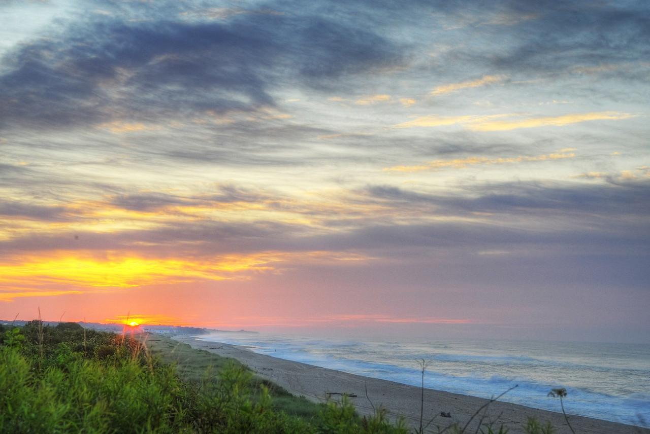Sunrise over Atlantic, Montauk